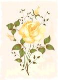 Vintage greeting card. Vector illustration EPS 10 Royalty Free Stock Photo