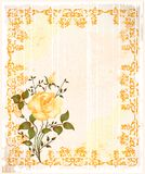 Vintage greeting card Royalty Free Stock Images