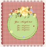 Vintage greeting card Royalty Free Stock Photo
