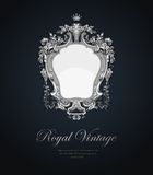 Vintage Greeting card. Royalty Free Stock Images