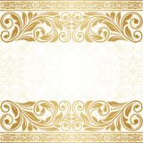 Vintage greeting card. This is file of EPS10 format Royalty Free Stock Images