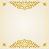 Vintage greeting card. This is file of EPS10 format Royalty Free Stock Photos
