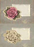 Vintage greeting cards Royalty Free Stock Image