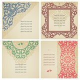 Vintage greeting cards. Stock Image