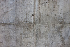 Vintage grey painted plaster concrete wall background. Dark edge Royalty Free Stock Photography