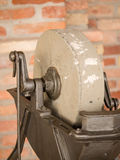 Vintage grinding wheel Royalty Free Stock Images