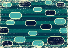 Vintage Grunge. Retro grunge pattern, green variation Stock Photo
