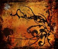 Vintage grunge background vector illustration