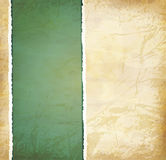 Vintage grunge background with old torn paper. Vector vintage grunge background with old torn paper Royalty Free Stock Photo