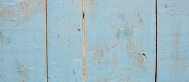 Vintage grunge blue background of natural wood old texture Stock Photo