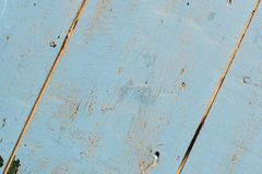 Vintage grunge blue background of natural wood old texture Royalty Free Stock Photography
