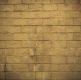 Vintage brown brick,masonry wall background Stock Photography