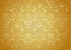 Vintage Grunge Brown pattern. Computer illustration, isolated on the white Royalty Free Stock Photos