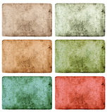 Vintage grunge colored paper texture background Stock Photography