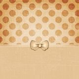 Vintage Grunge Dots Background Soft Brown 122 Royalty Free Stock Photo