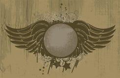Vintage grunge emblem Stock Image
