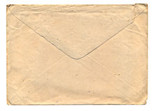 Vintage Grunge Envelope Royalty Free Stock Photography