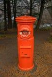 Vintage grunge mailbox Royalty Free Stock Photo