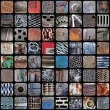 Vintage & grunge metal patchwork Stock Image
