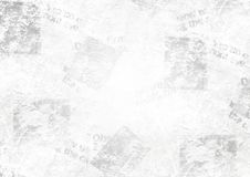 Vintage grunge newspaper collage background. Old grunge newspaper collage paper texture horizontal background. Blurred vintage newspaper background. Scratched Royalty Free Stock Image