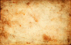 Vintage grunge old paper texture as background. With space for text or image Royalty Free Stock Photography