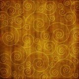 Vintage grunge paper with swirls Stock Photos