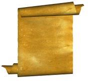 Vintage grunge rolled parchment illustration Royalty Free Stock Images