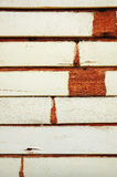 Vintage grunge stained white color on old wood Stock Photo