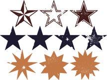 Vintage Grunge Stars Royalty Free Stock Image