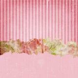 Vintage Grunge Stripes Background Pink royalty free stock photography
