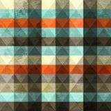 Vintage grunge triangle seamless Royalty Free Stock Images