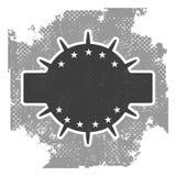 Vintage grunge vector badge Stock Image