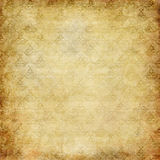 Vintage grunge wallpaper. Stylized floral texture faded in sepia tones stock illustration