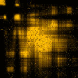 Vintage grunge yellow and black background. Texture abstract design Stock Photo