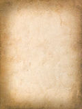 Vintage grungy background of old yellow paper Stock Photo