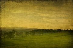 Vintage grungy landscape made from photography Stock Photo