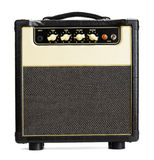 Vintage Guitar Amplifier Stock Photography