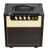 Vintage Guitar Amplifier Royalty Free Stock Photo