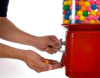 Vintage gumball machine Royalty Free Stock Photography