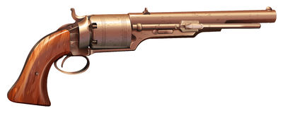 A vintage gun Royalty Free Stock Photos