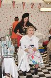 Vintage Hair and Beauty Salon Royalty Free Stock Photography