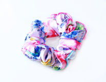 Vintage Hair Scrunchies Royalty Free Stock Photo