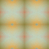 Vintage halftone seamless pattern Stock Photos