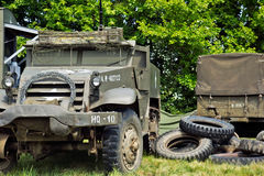 Vintage halftrack Royalty Free Stock Image