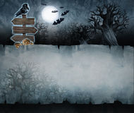 Vintage halloween background royalty free illustration