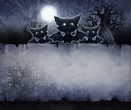 Vintage halloween background Royalty Free Stock Images