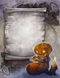 Vintage halloween background Stock Images