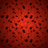 Vintage halloween pattern Royalty Free Stock Photo