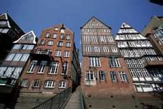 Vintage Hamburg royalty free stock photography