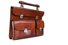 Vintage hand-bag Royalty Free Stock Images